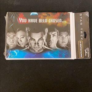 Star Trek invitations /8 NWT